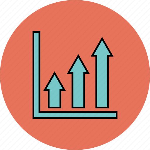 analytics, bar, chart, increase icon icon