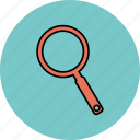 find, loop, search, view icon icon