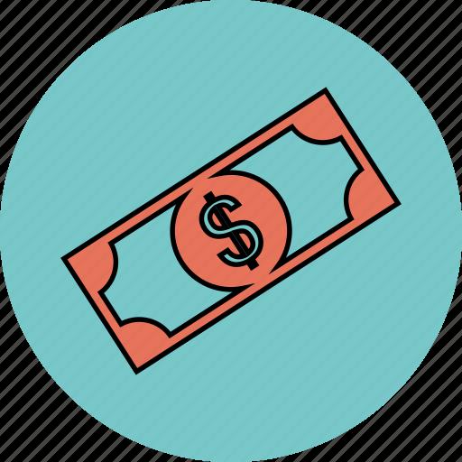 cash, dollar, earnings, money icon icon