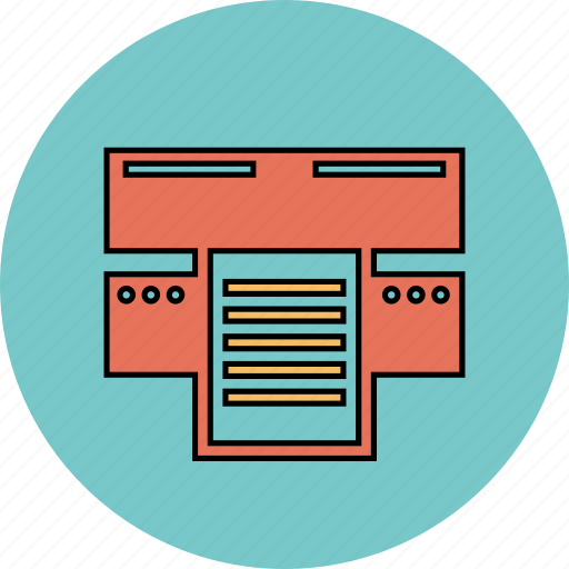 device, print, printer icon icon