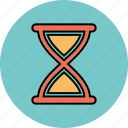 clock, hourglass, sand, timer icon