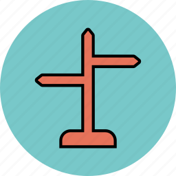 direction sign, indication sign, road sign icon icon