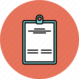 checklist, list, notepad, paper icon icon