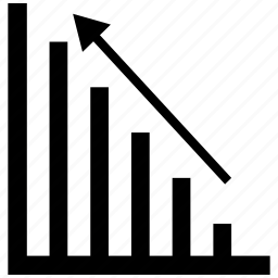 bar, chart, graph icon icon