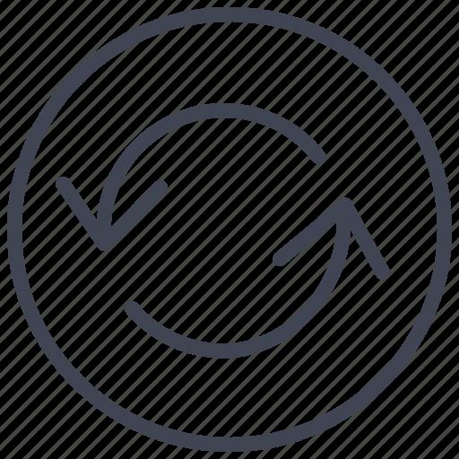 arrow, arrows, business, refresh, reload, sync icon
