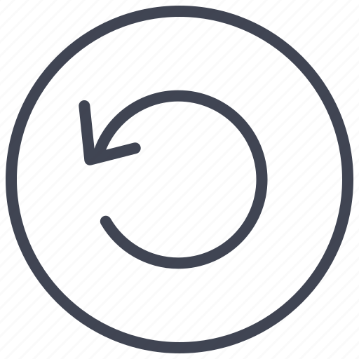 arrow, business, circle, refresh, reload, rotate icon