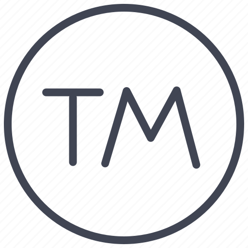 business, circle, mark, marketing, trade icon