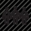 business people, businessman, team, teamwork icon