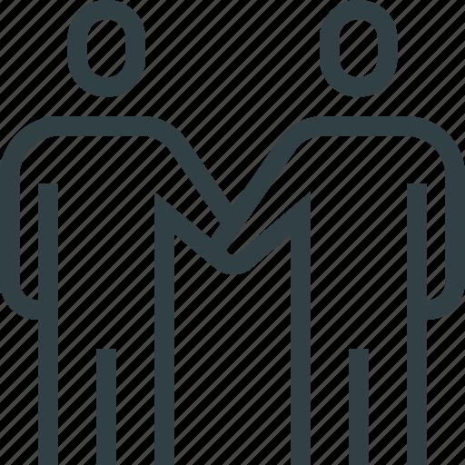 Partnership, people, teamwork icon - Download on Iconfinder