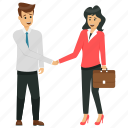 business buddies, business partners, business partners shaking hands, business partnership, business people icon