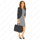 african business woman, business character, business woman, business woman avatar, portrait of business woman, woman icon