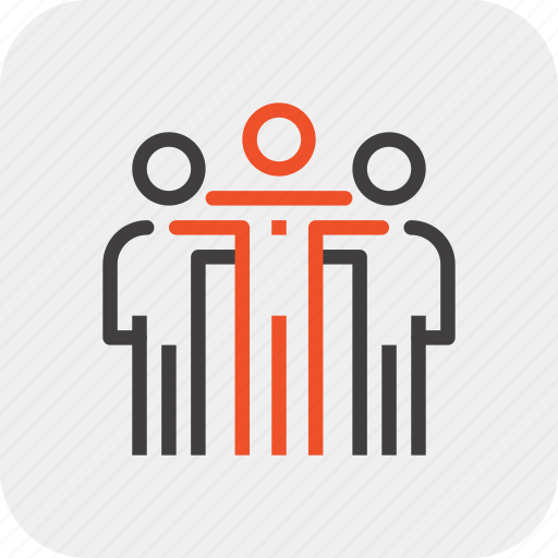 Group, leader, leadership, people, person, team, teamwork icon - Download on Iconfinder