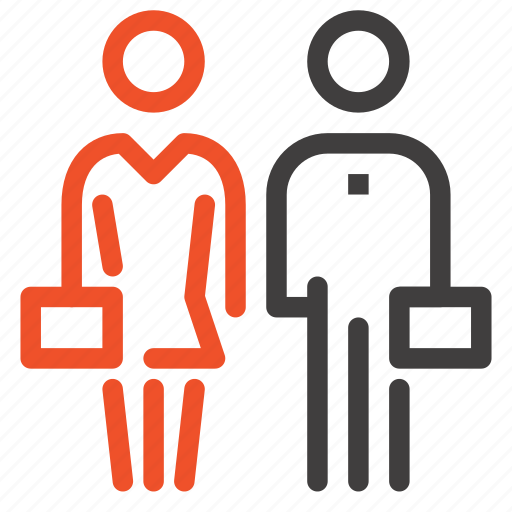 business, job, man, people, person, woman, work icon