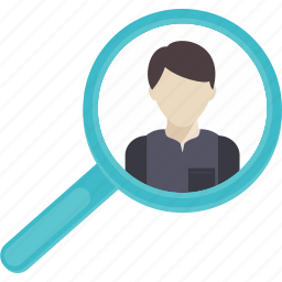 detective, glass, loupe, magnifying, search, searching, zoom icon