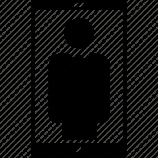 account, avatar, communication, info, mobile, profile, user icon