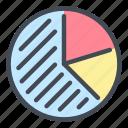 chart, pie, graph, report, statistics