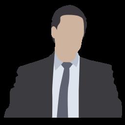 attorney, businessman, financier, lawyer, marketer, notary, person icon