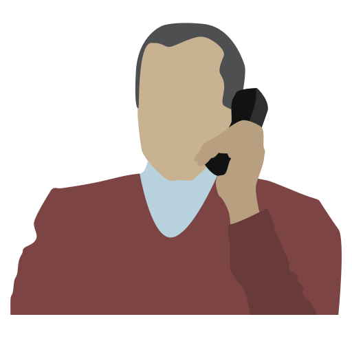 corporate lawyer, man with phone, person, telephone conversation icon