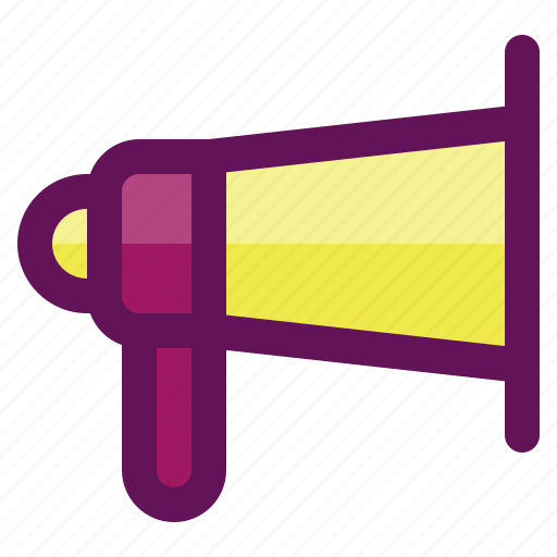 business, finance, investment, megaphone, plan icon