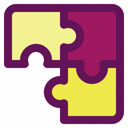 business, finance, investment, plan, puzzle icon