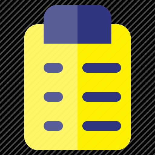 business, checklist, finance, investment, plan icon