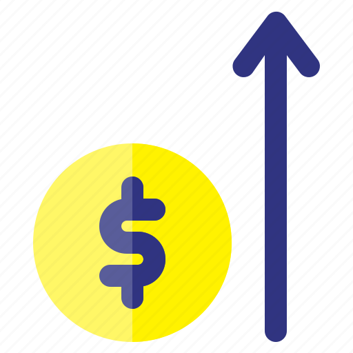 business, finance, increase, investment, money, plan icon
