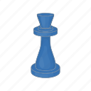 board, business, cartoon, chess, figure, move, queen icon