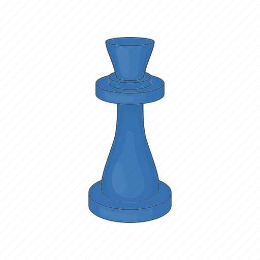 Board, business, cartoon, chess, figure, move, queen icon - Download on Iconfinder