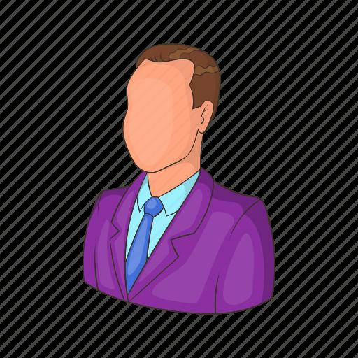 business, businessman, cartoon, job, manager, suit, work icon