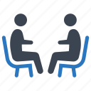collaboration, dealing, discussion, negotiating icon