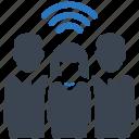 business, communication, team