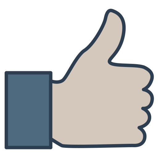 client, customer, quality, review, thumb up, user icon