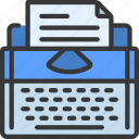 copy, writer, type, writing, machine