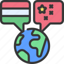 global, interpretation, languages, countries, united, world