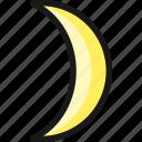new, night, moon