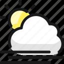 weather, cloud, sun, wind