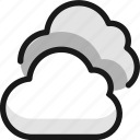 weather, clouds