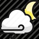 weather, wind, night