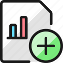 data, file, bars, add
