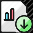 data, file, bars, download