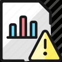 data, file, bars, warning
