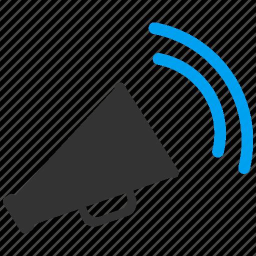 alert, announce, business news, horn, marketing, megaphone, speaker icon