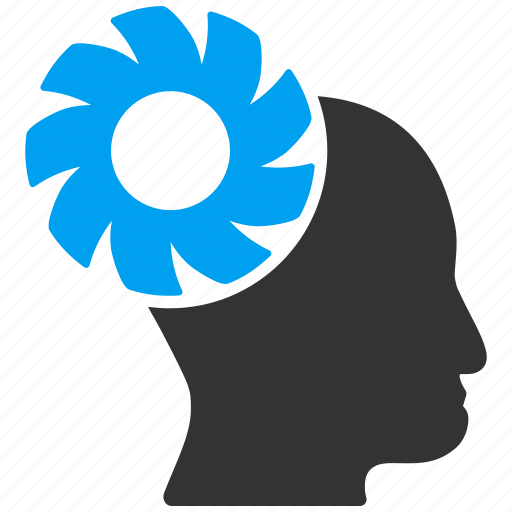 Brain, idea, intellect, memory, mind, technology, wheel icon - Download on Iconfinder