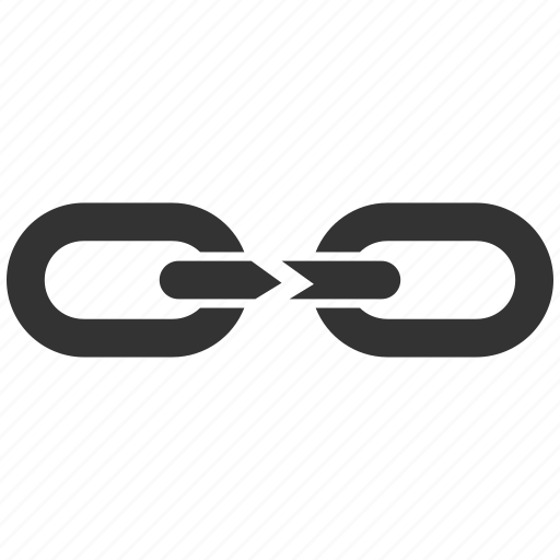 Break, chain, cut, destroy, destruction, divide, separation icon - Download on Iconfinder