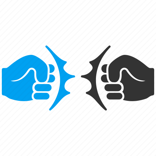 Aggression, boxing, conflict, fist strike, hands, power fight, punch icon - Download on Iconfinder