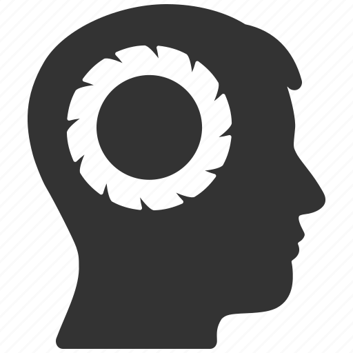 Brain settings, human, memory, progress, solution, user, wheel icon - Download on Iconfinder