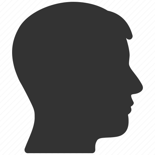 Account, head profile, human, man, person, portrait, user icon - Download on Iconfinder