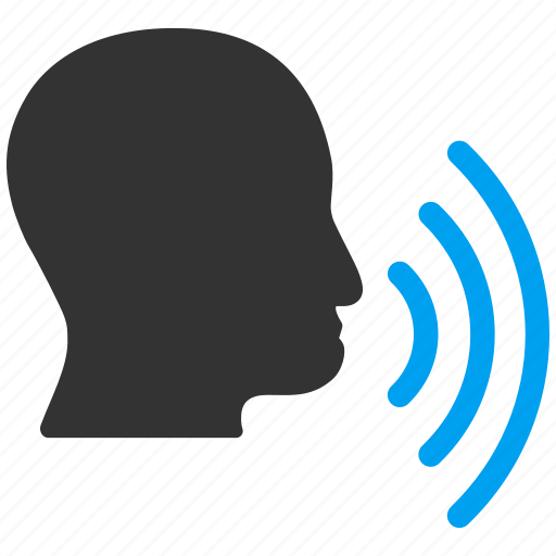 Chat, man, person, sound signal, speech, transmission, waves icon - Download on Iconfinder