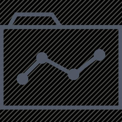 business, data, folder, internet icon