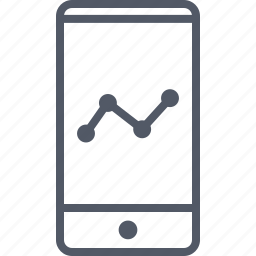 business, cell, data, money, phone icon